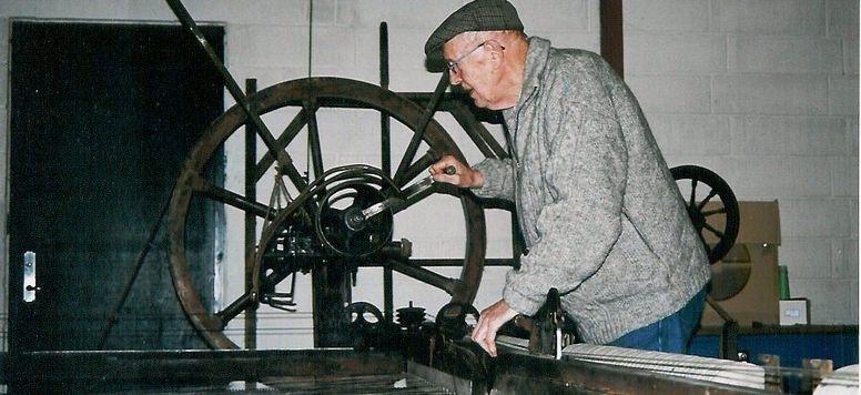 Besøg og rundvisning på Hjelholt Uldspinderi